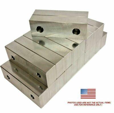 12 Pack 6x2x1 Machined Aluminum Soft Jaws Kurt 6 Vises 6 X 2 X 1 Free Ship