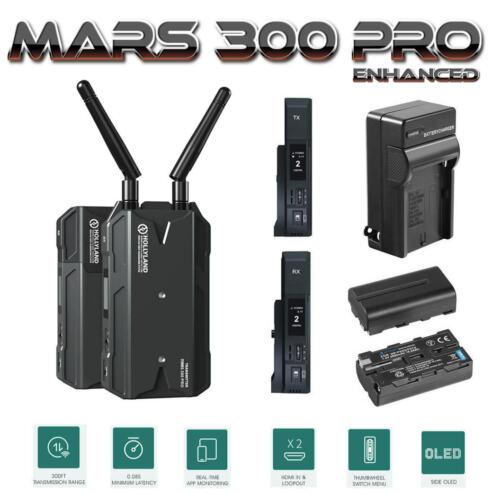 Hollyland Mars 300 PRO Enhanced 300FT Dual HDMI Wireless Video Transmission