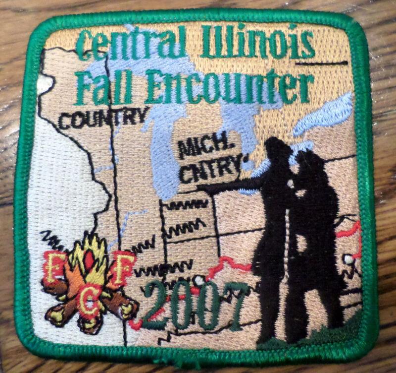 Central Illinois Fall Encounter Michigan Co. 2007  Royal Ranger Uniform Patch