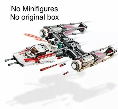 LEGO Star Wars 75249 Resistance Y-Wing Starfighter NO MINIFIGURES/BOX