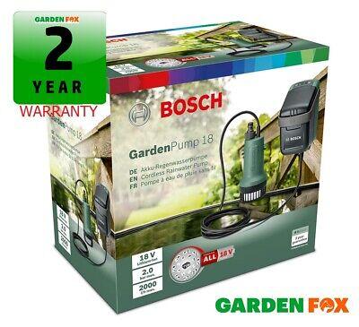 new Bosch 18V GardenPump 18 - Rainwater Garden Pump 06008C4270 4059952547886 .