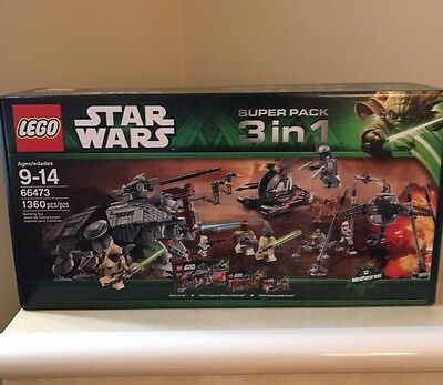 LEGO Star Wars Super Pack 3 In 1 (66473) Retired Brand New In Box Sealed!