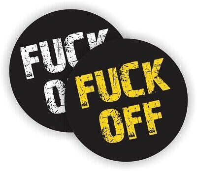 Fk Off Funny Hard Hat Stickers Motorcycle Welder Helmet Osha Decals Labels