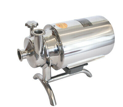 220v 750w Stainless Steel Sanitary Pump Sanitary Beverage Milk Delivery Pump