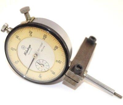 Vintage Mitutoyo Dial Indicator 2416 .001-1.000 Older Model