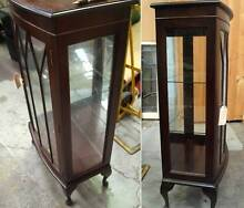Antique Style Vintage Display China Cabinet with key Alexandria Inner Sydney Preview
