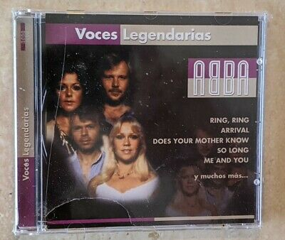 NEW SEALED ABBA VOCES LEGENDARIAS RARE IMPORT CD FREE SHIPPING