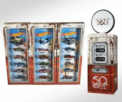 Hot Wheels RLC 50th Anniversary exclusive 2018 Super Treasure Hunt set.15