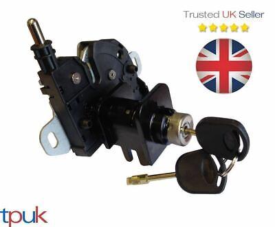 TRANSIT MK6 BONNET LOCK LATCH AND LOCK SET COMPLETE 2 KEYS 2000-2006 BRAND NEW