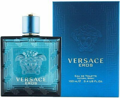 VERSACE EROS 3.4 oz / 100 ML EDT SPRAY MEN'S COLOGNE
