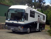 1989 Hino Rainbow Motor Home Guys Hill Cardinia Area Preview