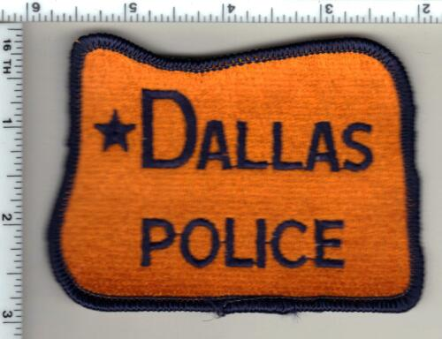 Dallas Police (Oregon) Shoulder Patch - new from 1988