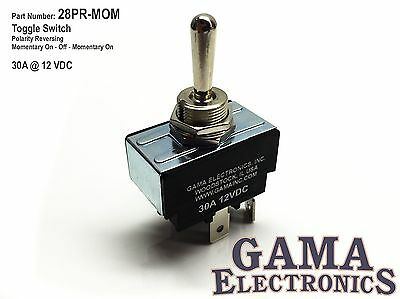 30 Amp Toggle Switch Polarity Reverse Dc Motor Control - Momentary