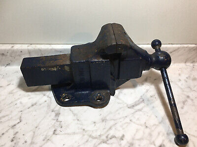 Vintage Reed Mfg Co. No.104 Bench Vise 4 Jaw