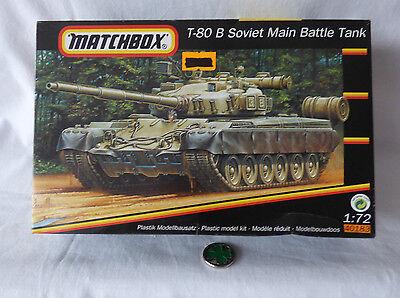 Matchbox   40183 T-80 B Soviet Main Battle Tank   - OVP Bausatz 1: 72