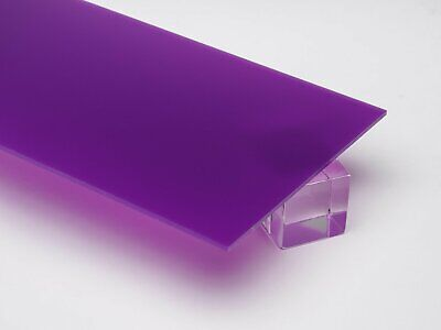 18 3mm Purple Violet 12x12 Translucent Acrylic Plexiglass Sheet Azm
