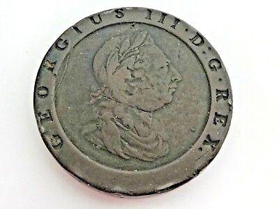 GEORGE III 1797 CARTWHEEL TWOPENCE 2D IN A NICE GRADE