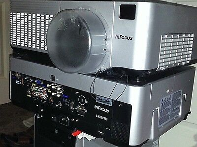 InFocus IN5110 - 1080p HD LCD PROJECTOR, 4200 LUMENS- NEW LAMP