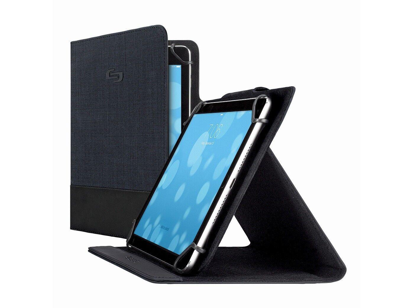 Solo Velocity Universal Tablet Case Black Fits IPad Mini/Sam