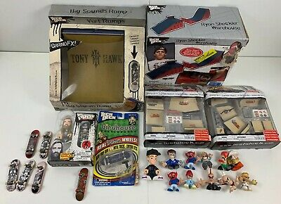 Tech Deck Skateboard Ramps Fingerboard & Dudes Mixed Lot New & Used