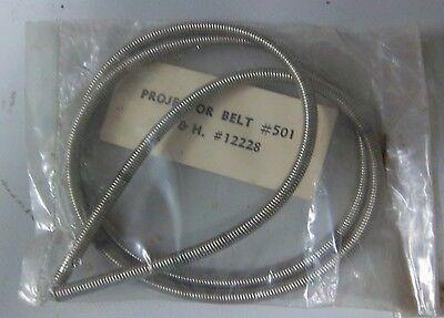 Spring Belt For Older Bell & Howell 16mm Projectors 12228. Unused