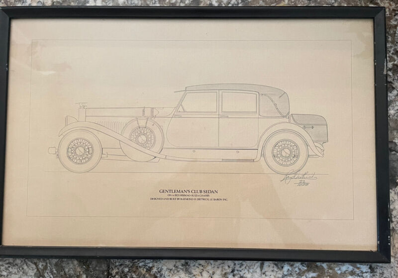 Ray Dietrich Limited Edition Drawing