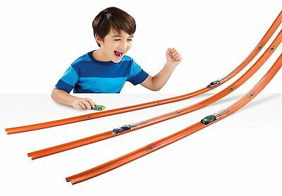 40 Feet Hot Wheels Kids Car Toy Stunt Track and Builder Pack w/ Racing Play Set
