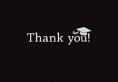 Graduation Thank You Notes (50 Classic Graduation Thank You Cards Notes High School or)