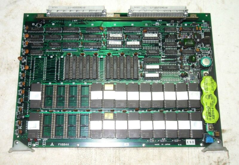 (a10) 1 Used Mitsubishi Fx884a Bn624a730g52 Pc Board