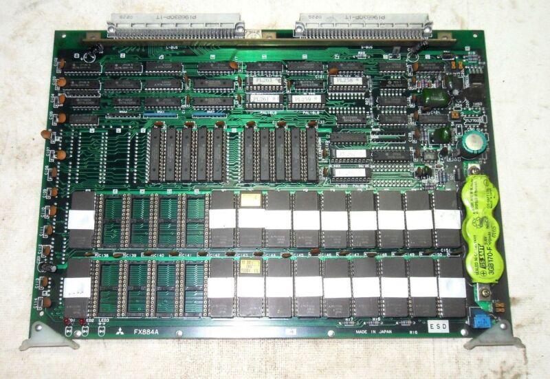 (a10) 1 Mitsubishi Fx884a Bn624a730g52 Pc Board