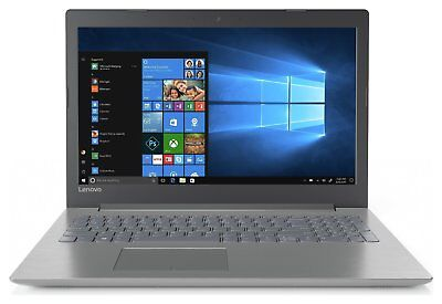 Lenovo IdeaPad 320 AMD A4 15.6 Inch 2.2Ghz 4GB 1TB Windows 10 Laptop - Grey