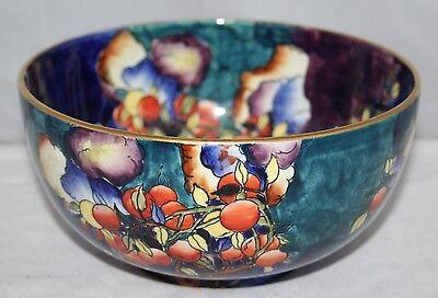 "Hancock's Coronaware - Cherry Ripe - Molly Hancock - 8"" Fruit Bowl - c1920 - vgc"