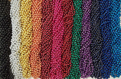 48 Mardi Gras Beads Football Party Favors Huge Lot 4 Dozen Tailgating Games