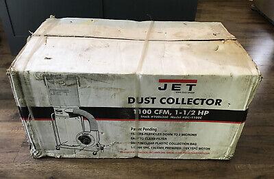 New Jet 2 Micron Dust Collector 708626c Model Dc-1100c 1 12hp 115230v 1100 Cfm