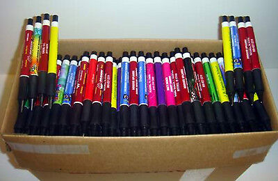 Wholesale Misprint Plastic Retractable Thick Pens 500 Piece