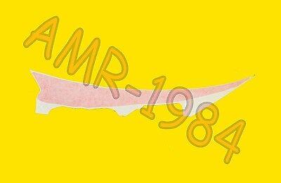 ADESIVO DECALCO CRINIERA SUPERIORE CODONE DX  2006//2007 NERO DIABLO  8166938