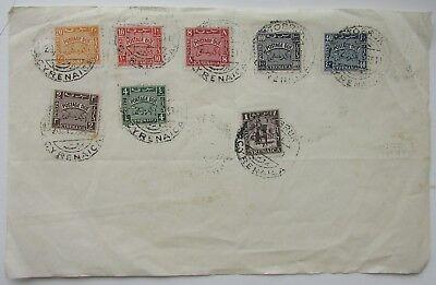 B.O.I.C. CYRENAICA 1950 SGD149/55 Postage Dues plus 1 other CDS Tobruk Cyrenaica