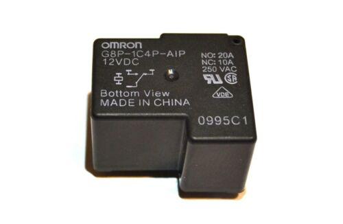 Omron G8P-1C4P 12V DC 20A 250VAC Relay G8P-1C4P 12VDC - Brand New