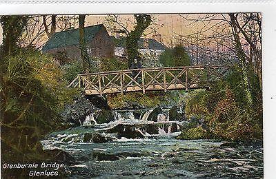 GLENBURNIE BRIDGE, GLENLUCE: Wigtownshire postcard (C4146).