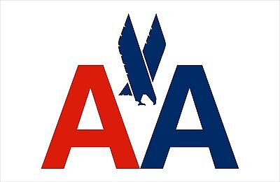 American AIRLINE  Banner  FREE SHIPPING