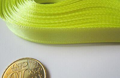 Cinta raso 10 mm ancho X 4 metros verde muy claro abalorios...