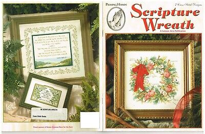 Scripture Wreath (SCRIPTURE WREATH   7 DESIGNS   CROSS STITCH )
