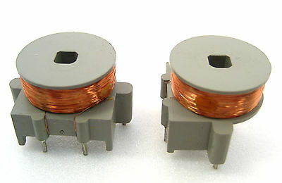High Inductance 80mh Rf Chokecoils Pc Mounting 2lot