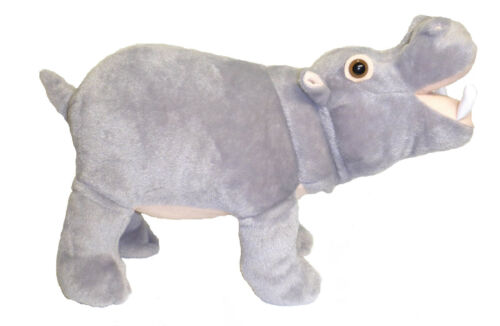"""ADORE 14"""" Standing Gassy the Farting Hippo Stuffed Animal Plush Toy"""