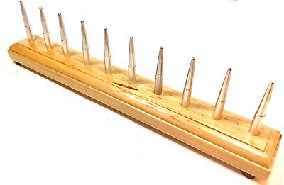 Bassoons Sakakeeny Bassoon Drying Rack-2 Free Handles-22 Hex Based Removable Pins-cherry