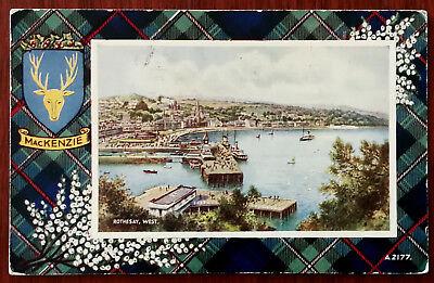Mackenzie, Rothay West  Valentine & Son A2177, Vintage Post Card