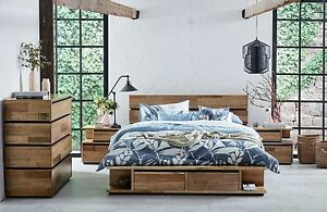 Gorgeous Timber Queen Bed Kings Cross Inner Sydney Preview