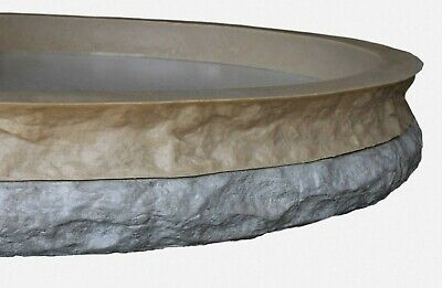 Stone Master Molds Chiseled Edge Concrete Countertop Edge Form Liner 10x2.5