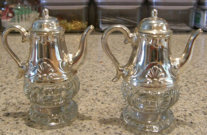 Vintage Guardian Service Ware Teapot Salt and Pepper Shakers XCLNT Cond