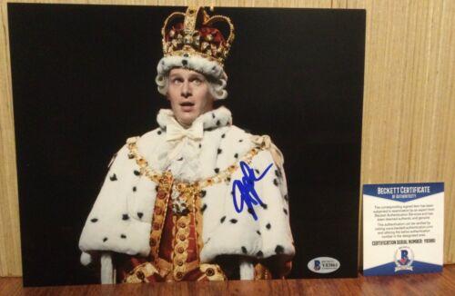 JONATHAN GROFF HAMILTON KING GEORGE SIGNED 8X10 PHOTO B BECKETT BAS